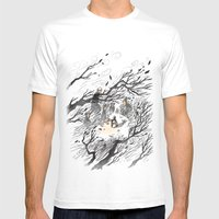 Could It Be The Wind? Mens Fitted Tee White SMALL