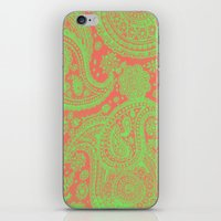 Sherbet Paisley iPhone & iPod Skin