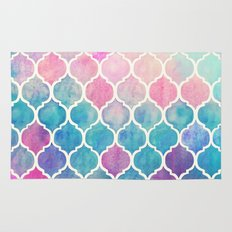 Rainbow Pastel Watercolo… Rug