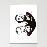Simon Pegg & Nick Frost Stationery Cards