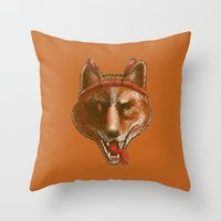 The Spicy Dingo Throw Pillow