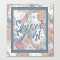 The Sweet Scent of Spring Canvas Print