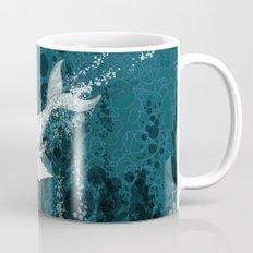 Flying Whale Underwater Mug