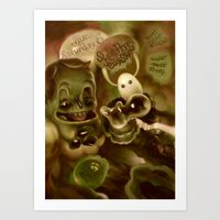 Super Happy Jelly Show Art Print