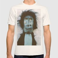 Blue Baboon Mens Fitted Tee Natural SMALL