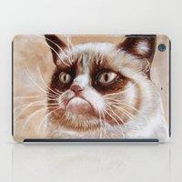 Grumpycat iPad Case