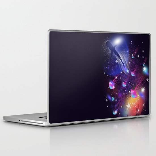 Cosmic Sea Laptop & iPad Skin