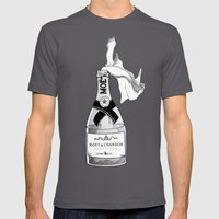 Bourgeois Anarchy Mens Fitted Tee Asphalt SMALL