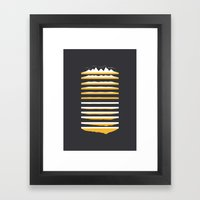 Times Framed Art Print
