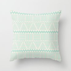 sierra aguamarina Throw Pillow