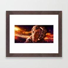 Darkness Framed Art Print