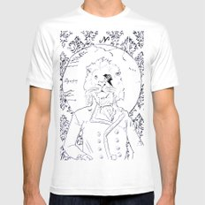 Richard Coeur SMALL White Mens Fitted Tee