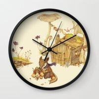 Harvey The Greedy Chipmu… Wall Clock