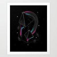 In Deep Space Art Print