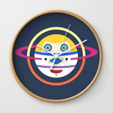 Spaceman 4 Wall Clock