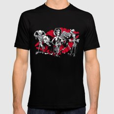 RHPS gang of five Mens Fitted Tee Black SMALL