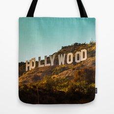 Hollywood Sign Tote Bag