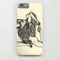 Lion-Hearted Girl iPhone 6 Slim Case