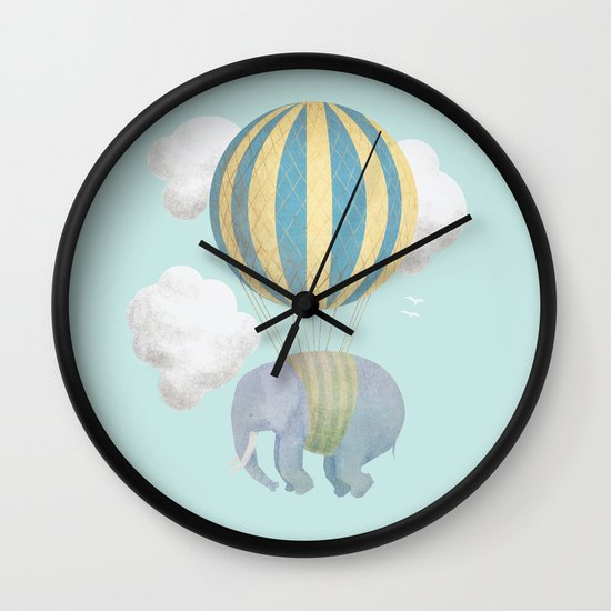Escape From the Circus Wall Clock