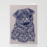 MANDALA OF PUG Stationery Cards