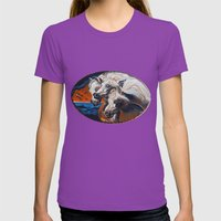 The Pharoah's Horses Womens Fitted Tee Ultraviolet SMALL