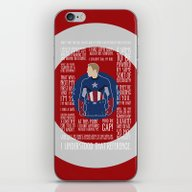 The First Avenger iPhone & iPod Skin