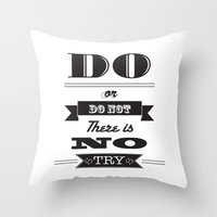star wars too Throw Pillow