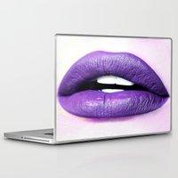lips Laptop & iPad Skins featuring Lips by Wanker & Wanker