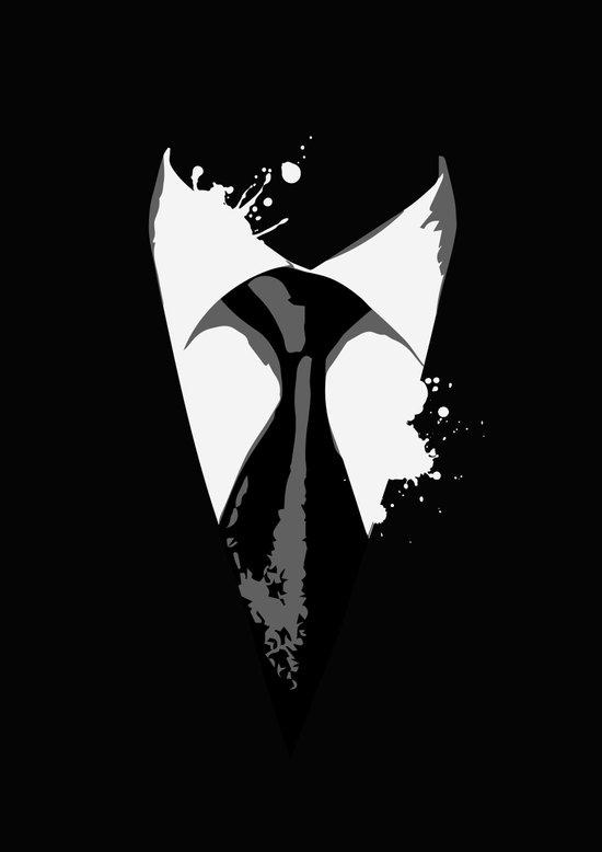Suit & Tie Art Print