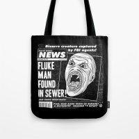 Freaky World News Tote Bag