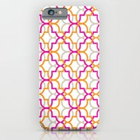iPhone & iPod Case featuring Moroccan Trellis Overlaps by rollerpimp