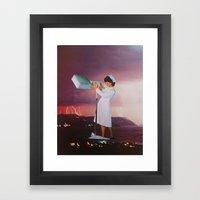 collage 22 Framed Art Print