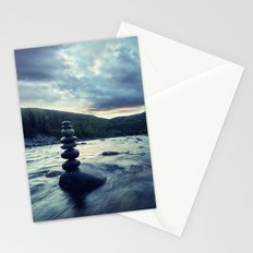 Balance in the River Stationery Cards