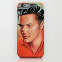 iPhone & iPod Case featuring The King by Katie Sanvick