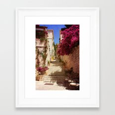 Hvar old town Framed Art Print