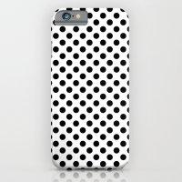 Black And White Polka Do… iPhone 6 Slim Case