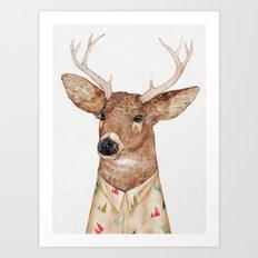 White Tailed Deer Art Print
