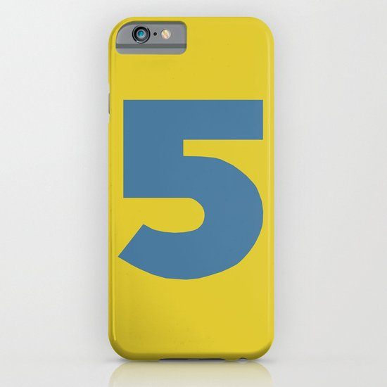 Number 5 iPhone & iPod Case