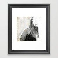 Faceless | Number 03 Framed Art Print