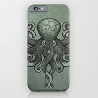 Grey Dectapus iPhone 6 Slim Case