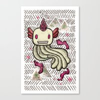 Mad Squillie Canvas Print