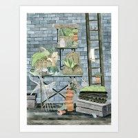 Garden Theme Art Print