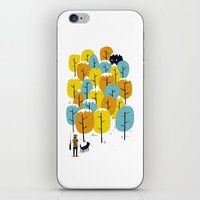 Searching For The Monste… iPhone & iPod Skin