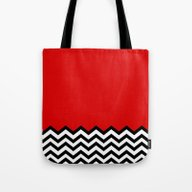 Black Lodge Dreams (Twin… Tote Bag