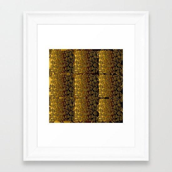 Texture-5 Framed Art Print
