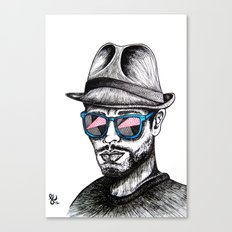 Reflective Rave Canvas Print