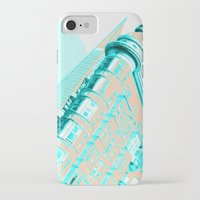 san francisco iPhone & iPod Cases featuring San Francisco by DM Davis
