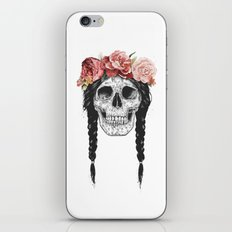 Festival skull iPhone & iPod Skin