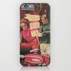 PIZZA BEERS T.V. iPhone 6 Slim Case