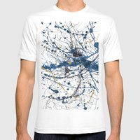 Sometimes At Night, I Sleep Mens Fitted Tee White SMALL